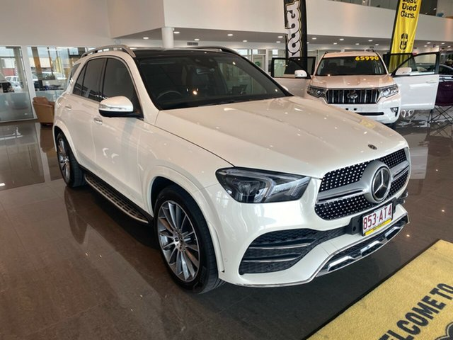 Used Mercedes-Benz GLE-Class V167 GLE450 9G-Tronic 4MATIC Townsville, 2019 Mercedes-Benz GLE-Class V167 GLE450 9G-Tronic 4MATIC White 9 Speed Sports Automatic Wagon