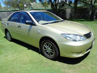 2004 Toyota Camry ACV36R Altise Gold 4 Speed Automatic Sedan.