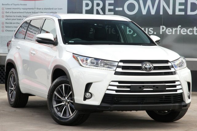 Pre-Owned Toyota Kluger GSU50R GXL 2WD Guildford, 2019 Toyota Kluger GSU50R GXL 2WD Crystal Pearl 8 Speed Automatic Wagon