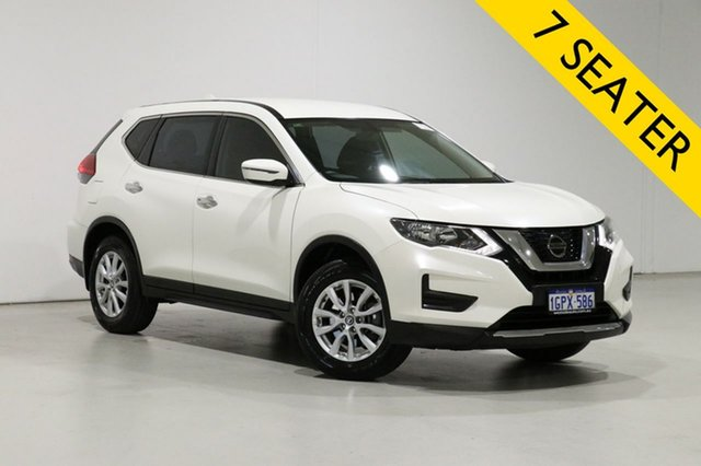 Used Nissan X-Trail T32 Series 2 ST 7 Seat (2WD) Bentley, 2018 Nissan X-Trail T32 Series 2 ST 7 Seat (2WD) White Continuous Variable Wagon