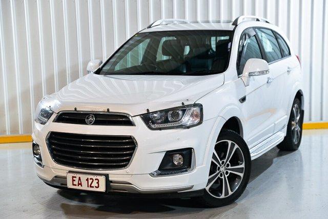 Used Holden Captiva CG MY17 LTZ AWD Hendra, 2016 Holden Captiva CG MY17 LTZ AWD White 6 Speed Sports Automatic Wagon