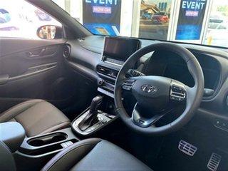 2020 Hyundai Kona Os.v4 MY21 N-Line D-CT AWD Premium Surfy Blue Black Roof 7 Speed