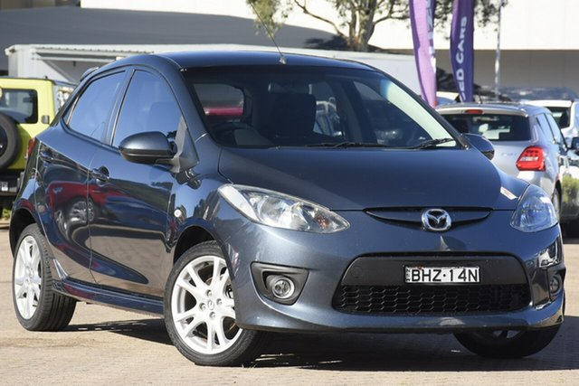 Used Mazda 2 DE Maxx Rosebery, 2008 Mazda 2 DE Maxx Grey 4 Speed Automatic Hatchback
