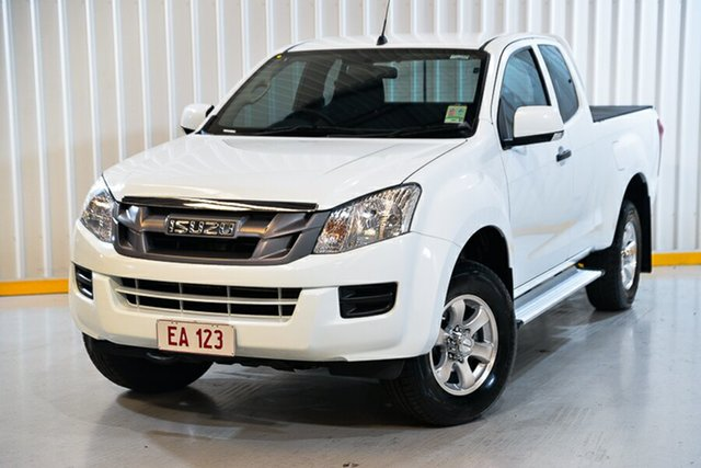 Used Isuzu D-MAX MY15.5 SX Space Cab 4x2 High Ride Hendra, 2016 Isuzu D-MAX MY15.5 SX Space Cab 4x2 High Ride White 5 Speed Sports Automatic Utility