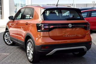 2020 Volkswagen T-Cross C1 MY20 85TSI DSG FWD Style Orange 7 Speed Sports Automatic Dual Clutch