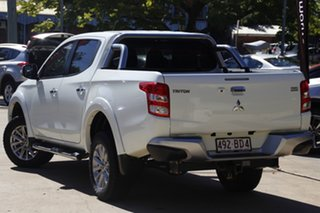 2016 Mitsubishi Triton MQ MY16 GLS Double Cab White 6 Speed Manual Utility
