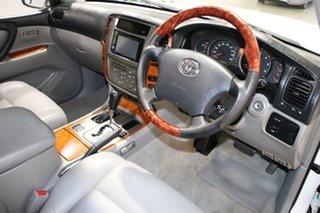 2004 Toyota Landcruiser HDJ100R Sahara (4x4) White 5 Speed Automatic Wagon