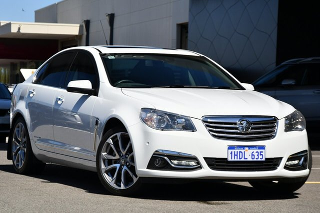 Used Holden Calais VF II MY17 V Clarkson, 2017 Holden Calais VF II MY17 V White 6 Speed Sports Automatic Sedan