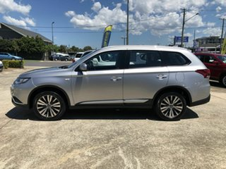 2018 Mitsubishi Outlander ZL MY19 ES AWD Silver 6 Speed Constant Variable Wagon.