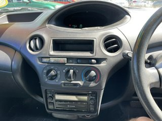 2003 Toyota Echo NCP10R MY03 Green 4 Speed Automatic Hatchback