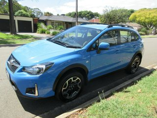 2016 Subaru XV G4X MY16 2.0i AWD Blue 6 Speed Manual Wagon