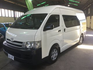 2008 Toyota HiAce TRH223R MY07 Upgrade Commuter White 4 Speed Automatic Bus