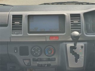 2008 Toyota HiAce KDH201V Super GL Silver Automatic Van