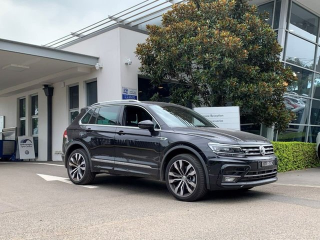 Demo Volkswagen Tiguan 5N MY20 162TSI DSG 4MOTION Highline Botany, 2020 Volkswagen Tiguan 5N MY20 162TSI DSG 4MOTION Highline Black 7 Speed