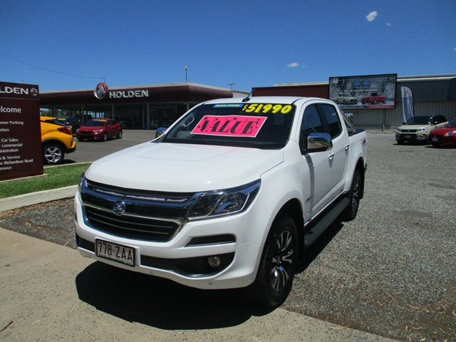 Used Holden Colorado RG MY20 LTZ Pickup Crew Cab North Rockhampton, 2019 Holden Colorado RG MY20 LTZ Pickup Crew Cab White 6 Speed Sports Automatic Utility
