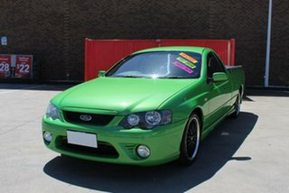 2008 Ford Falcon BF MkII XR6 Green 4 Speed Auto Seq Sportshift Utility.