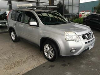 2011 Nissan X-Trail T31 MY11 ST (FWD) Silver Continuous Variable Wagon.