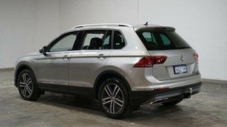 2018 Volkswagen Tiguan 5N MY19 162TSI DSG 4MOTION Highline Silver Metallic 7 Speed.