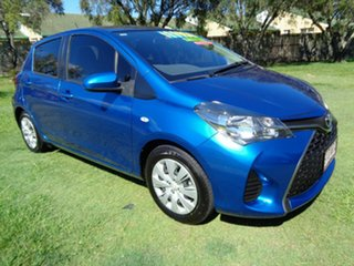 2015 Toyota Yaris NCP131R SX Blue 5 Speed Manual Hatchback.