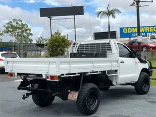2012 Toyota Hilux KUN26R Workmate White 5 Speed Manual Cab Chassis