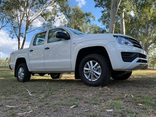 2020 Volkswagen Amarok 2H MY21 TDI420 4MOTION Perm Core Candy White 8 Speed Automatic Utility