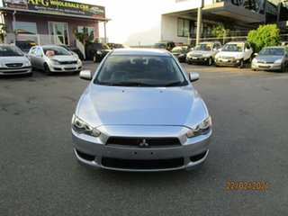 2007 Mitsubishi Lancer CJ ES Silver 6 Speed CVT Auto Sequential Sedan.