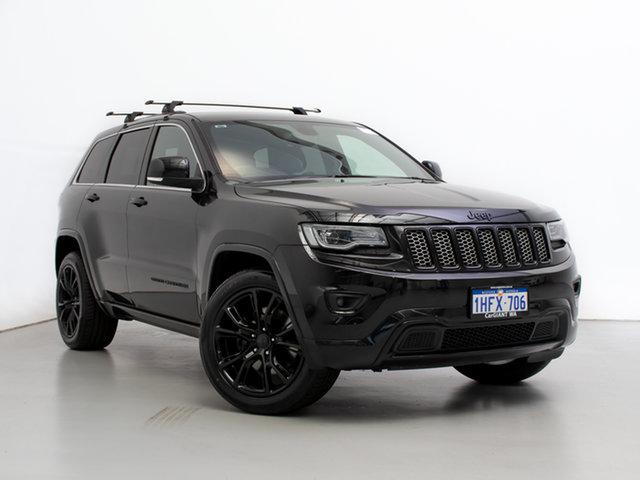 Used Jeep Grand Cherokee WK MY14 Blackhawk (4x4), 2014 Jeep Grand Cherokee WK MY14 Blackhawk (4x4) Black 8 Speed Automatic Wagon