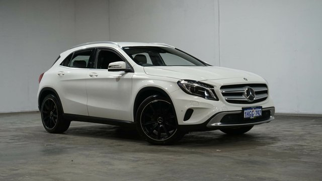 Used Mercedes-Benz GLA-Class X156 GLA200 CDI DCT Welshpool, 2014 Mercedes-Benz GLA-Class X156 GLA200 CDI DCT White 7 Speed Sports Automatic Dual Clutch Wagon