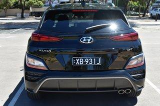 2020 Hyundai Kona Os.v4 MY21 N-Line D-CT AWD Phantom Black 7 Speed Sports Automatic Dual Clutch.