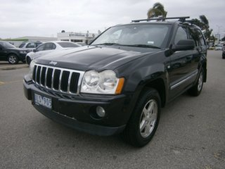 2006 Jeep Grand Cherokee WH MY2006 Limited Black 5 Speed Automatic Wagon