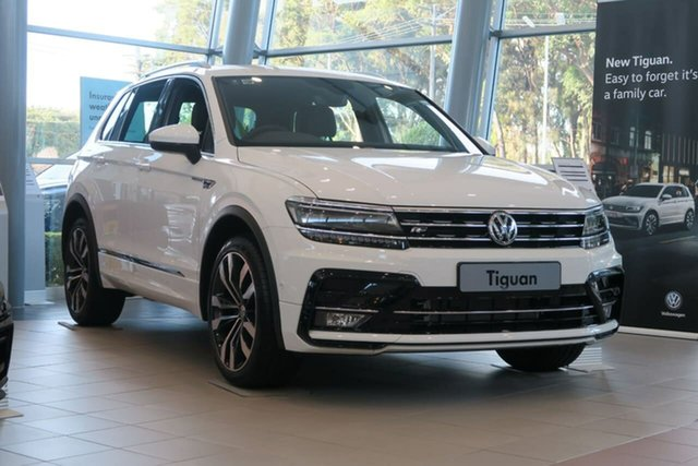 Demo Volkswagen Tiguan 5N MY20 162TSI DSG 4MOTION Highline Botany, 2020 Volkswagen Tiguan 5N MY20 162TSI DSG 4MOTION Highline White 7 Speed