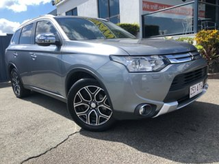 2014 Mitsubishi Outlander ZJ MY14.5 Aspire 4WD Titanium 6 Speed Sports Automatic Wagon.