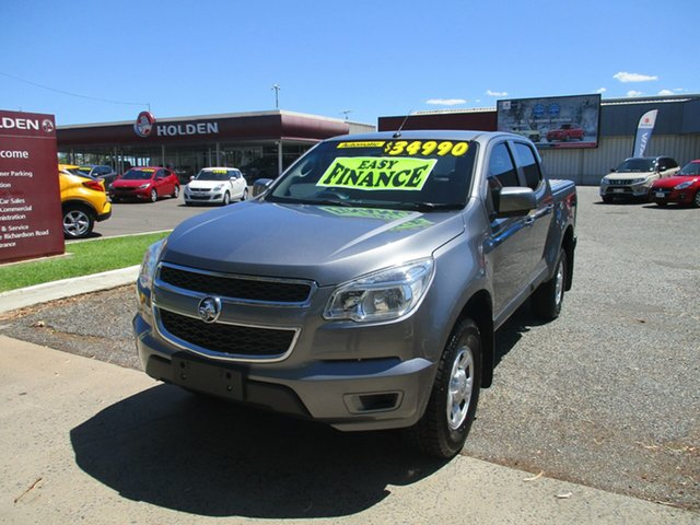 Used Holden Colorado RG MY15 LS Crew Cab 4x2 North Rockhampton, 2015 Holden Colorado RG MY15 LS Crew Cab 4x2 Grey 6 Speed Sports Automatic Utility