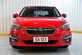 2017 Subaru Impreza G5 MY17 2.0i Premium CVT AWD Red/Black 7 Speed Constant Variable Hatchback