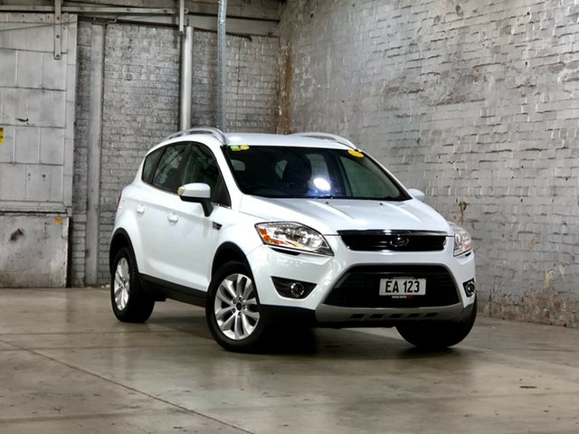 Used Ford Kuga TE Trend AWD Mile End South, 2012 Ford Kuga TE Trend AWD White 5 Speed Sports Automatic Wagon
