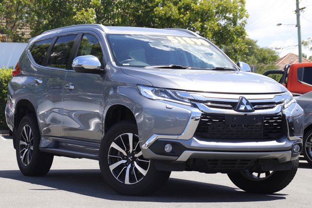 Used Mitsubishi Pajero Sport QE MY18 Exceed Mount Gravatt, 2018 Mitsubishi Pajero Sport QE MY18 Exceed Silver 8 Speed Sports Automatic Wagon