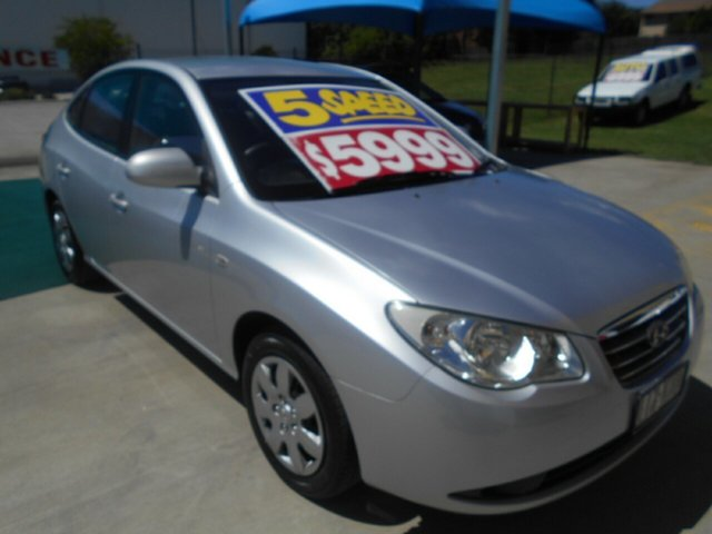 Used Hyundai Elantra HD SX Springwood, 2006 Hyundai Elantra HD SX Silver 5 Speed Manual Sedan