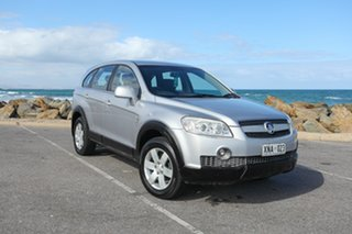 2007 Holden Captiva CG CX AWD Silver 5 Speed Sports Automatic Wagon.