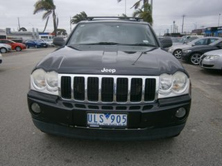 2006 Jeep Grand Cherokee WH MY2006 Limited Black 5 Speed Automatic Wagon.