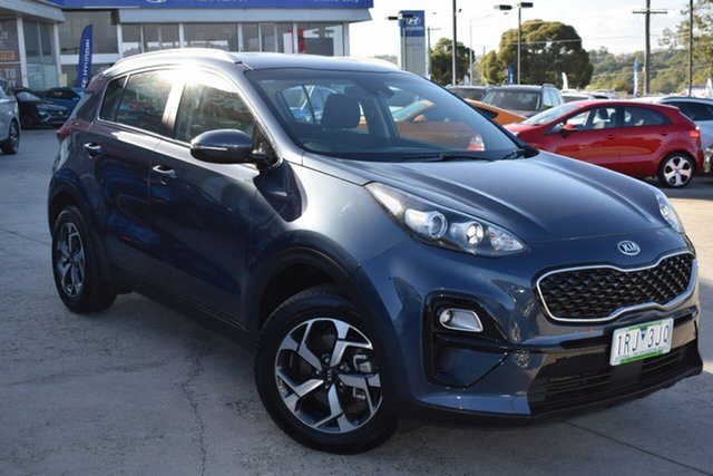 Used Kia Sportage QL MY20 S 2WD Ferntree Gully, 2020 Kia Sportage QL MY20 S 2WD Blue 6 Speed Sports Automatic Wagon