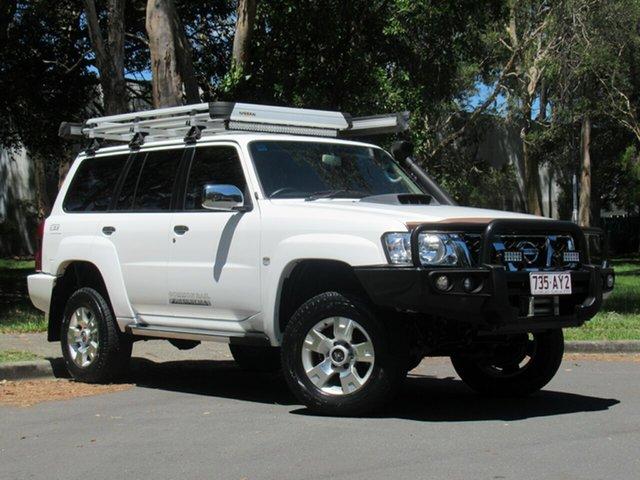 Used Nissan Patrol Y61 GU 10 N-TEC, 2016 Nissan Patrol Y61 GU 10 N-TEC White 4 Speed Automatic Wagon