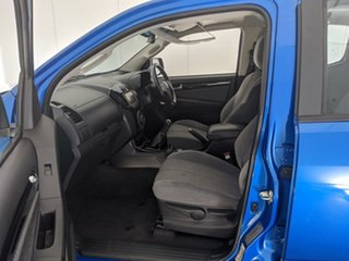 2015 Holden Colorado RG MY15 LTZ Crew Cab Blue 6 Speed Manual Utility
