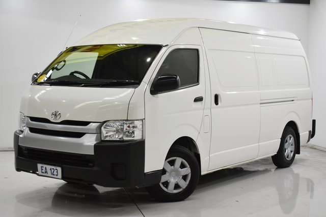 Used Toyota HiAce KDH221R High Roof Super LWB Brooklyn, 2018 Toyota HiAce KDH221R High Roof Super LWB White 4 Speed Automatic Van