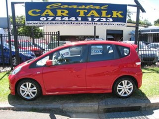 2012 Honda Jazz GE MY12 VTi-S Red 5 Speed Automatic Hatchback.