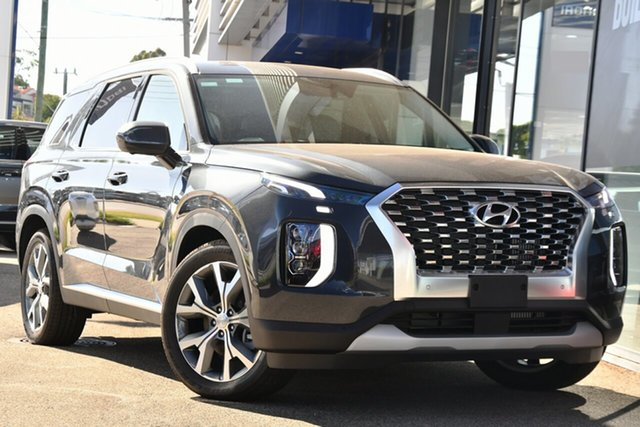 New Hyundai Palisade LX2.V1 MY21 Highlander (8 Seat) Victoria Park, 2020 Hyundai Palisade LX2.V1 MY21 Highlander (8 Seat) Steel Graphite 8 Speed Automatic Wagon