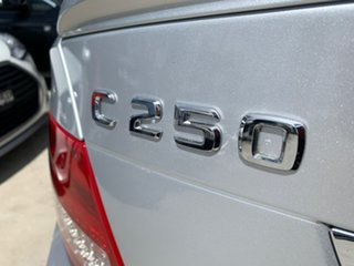 2012 Mercedes-Benz C-Class W204 MY13 C250 BlueEFFICIENCY 7G-Tronic + Elegance Silver 7 Speed