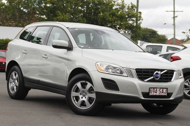 Used Volvo XC60 DZ MY11 T5 PwrShift Mount Gravatt, 2011 Volvo XC60 DZ MY11 T5 PwrShift White 6 Speed Sports Automatic Dual Clutch Wagon
