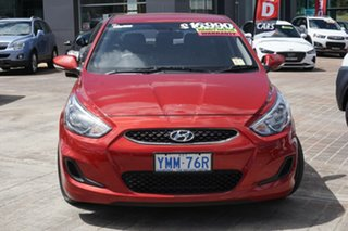 2017 Hyundai Accent RB5 MY17 Sport Pulse Red 6 Speed Sports Automatic Hatchback.