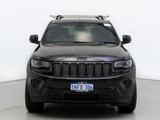 2014 Jeep Grand Cherokee WK MY14 Blackhawk (4x4) Black 8 Speed Automatic Wagon.