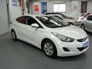 2011 Hyundai Elantra MD Active White 6 Speed Manual Sedan